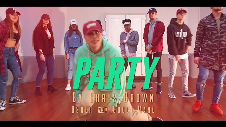 """Chris Brown ft. Gucci Mane & Usher """"Party"""""""